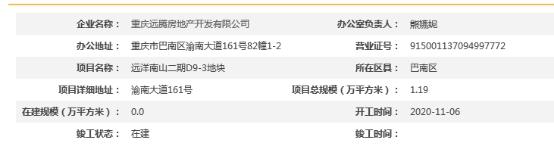 重庆远洋南山夜间违法噪声污染遭罚 为远洋地产项目