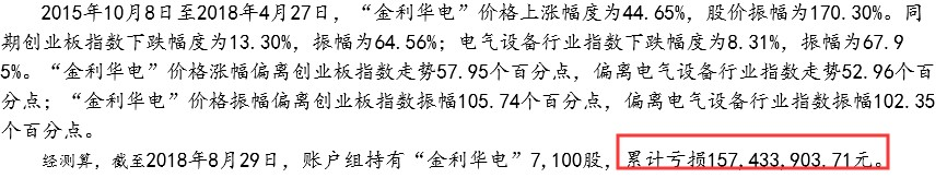 赵坚与楼金萍节制涉案109个证券账户