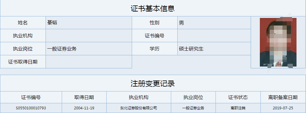 东北证券1年3遭监管 原合规老总违法炒股罚没140万