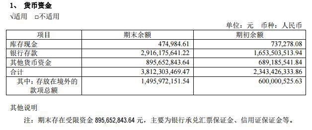 赛轮轮胎年报遭问询 货币资金38亿元利息收入2300万