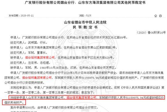 """山东恒邦股份二股东""""苦事""""连连:成为被执行人、被银行起诉等"""