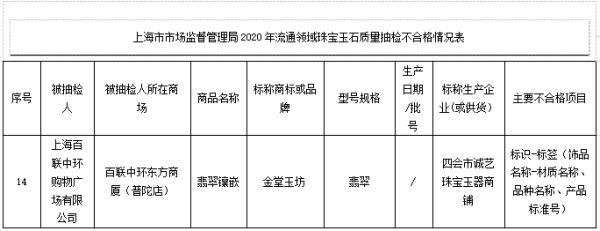 百联中环翡翠镶嵌上海现
