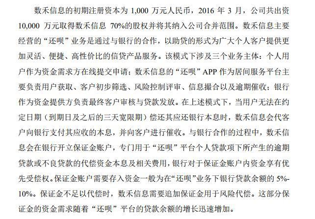"""被股东分众传媒指其助贷模式存""""兜底"""" 数禾科技备受质疑"""