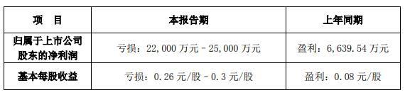 金一文化(002721.SZ)今年上半年净利润预计亏损2.2亿元-2.5亿元
