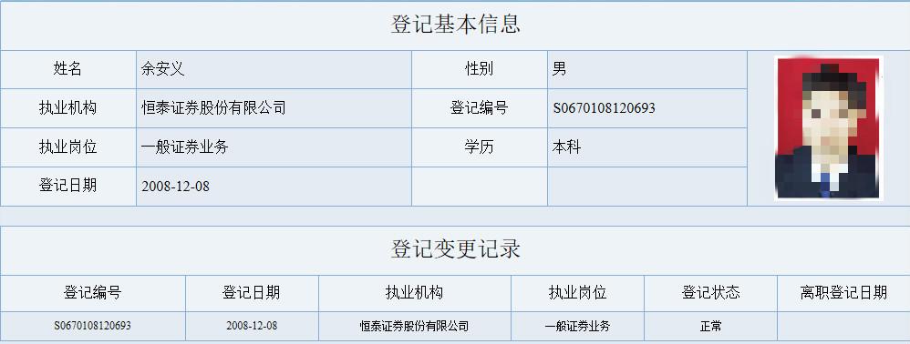恒泰证券3名80后员工将36个账户借他人遭证监会处罚