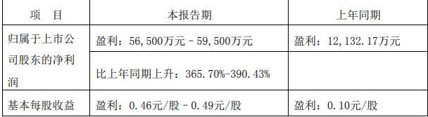 中鼎股份:上半年净利润预计同比增长366%