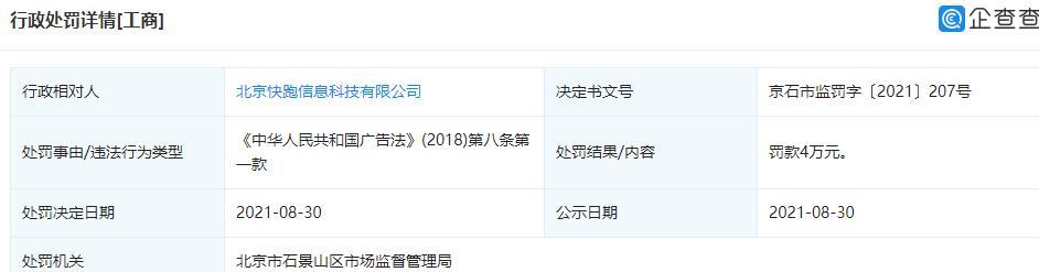 小猪民宿因发布虚假折扣宣传被罚4万