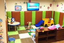 网点欣赏:兴业银行位于成都的一家社区支行儿童游乐园