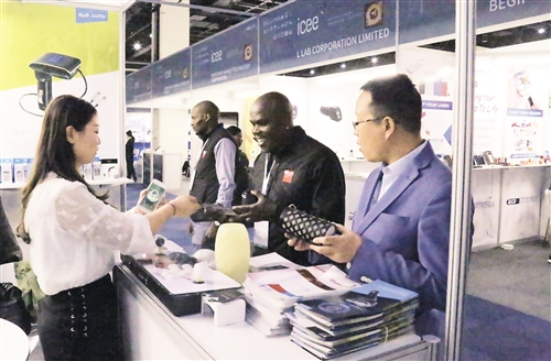 中国电子产品展登陆南非市场