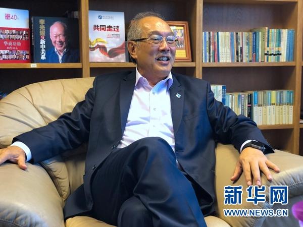 """专访新加坡中国商会会长胡进胜:""""一带一路""""深入人心 文商结合务实跟进"""