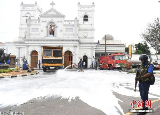 外媒:斯里兰卡爆炸案中被通缉的两名主要嫌犯被捕