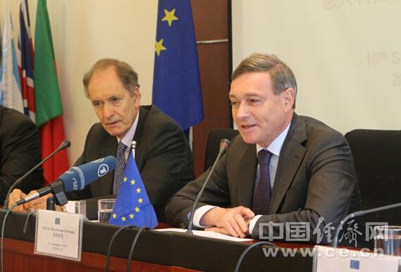 欧盟驻华大使:支持中欧媒体交流 扩大企业沟通渠道