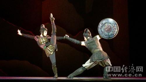携香港舞蹈团力作大型民族舞剧《花木兰》