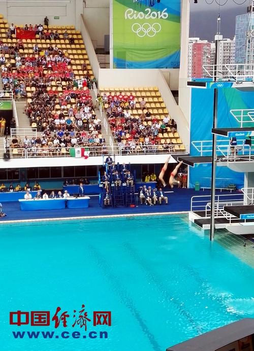 中国跳水队实现四连冠 展现梦之队惊人实力