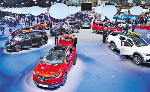 """日内瓦车展掀起""""中国风"""" 汽车行业在革新中布局"""