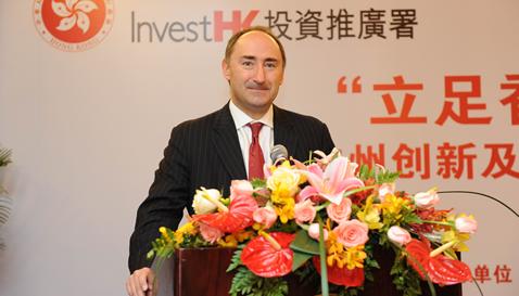 香港投资推广署署长:香港是内地企业走出去的跳板