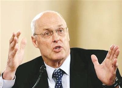 美国前财长保尔森:中国经济需要重启改革