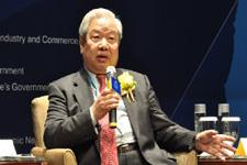 国际问题基金会副理事长王珍发表演讲