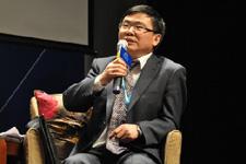 中国外交部拉美司副司长赵本堂演讲