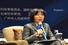 中国商务部美大司副司长徐迎真演讲