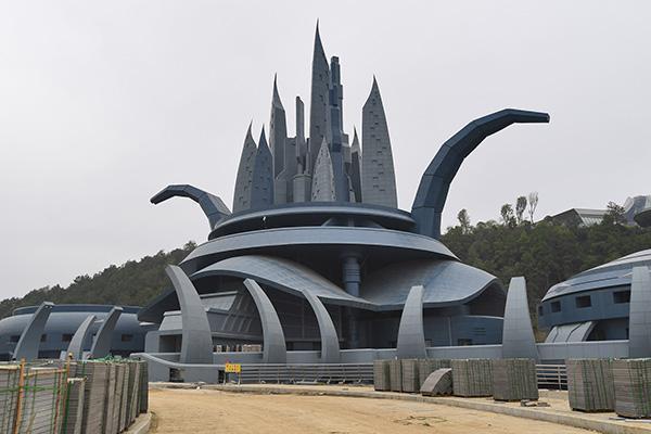 贵阳建全球最大变形金刚:60米高 造价1亿