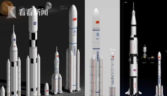 长征九号计划2030年首飞 可满足载人登月等需求