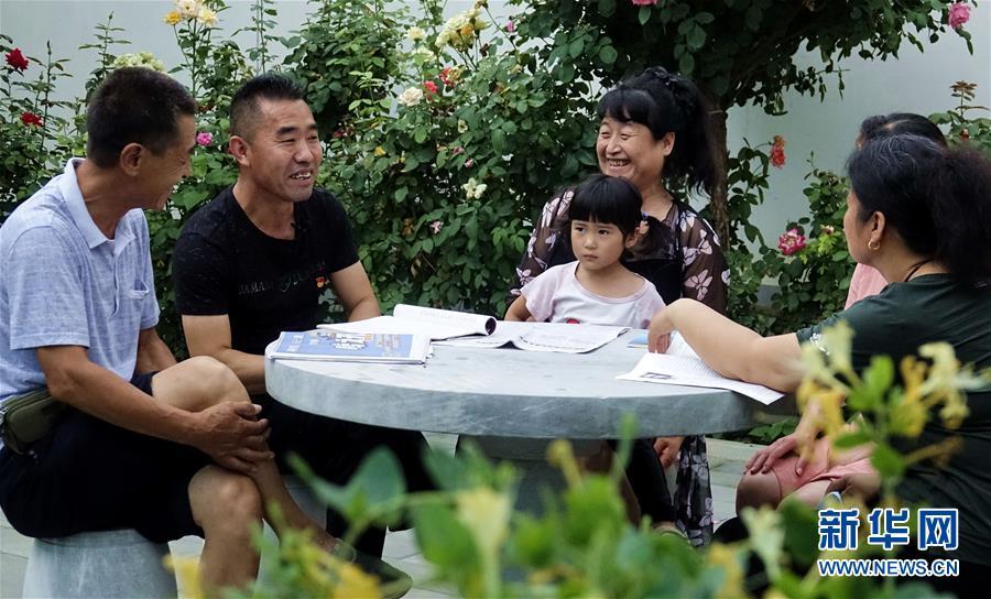 (社会)(1)北京霍州营村:党建引领乡村变身