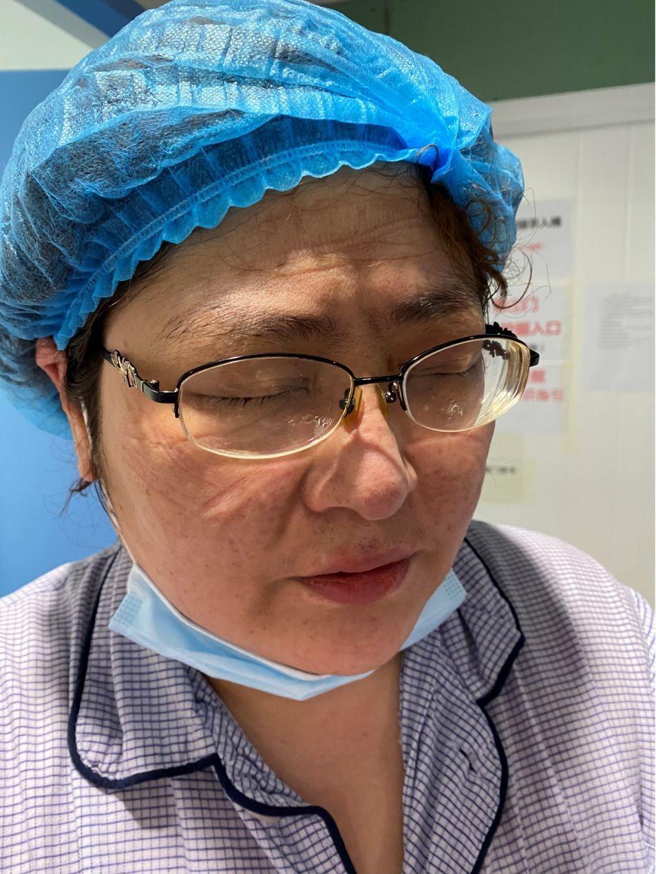 """『健康中国』【你有多美】一个令人落泪的""""纸蛋糕""""――中日医院国家援鄂医疗队日记"""