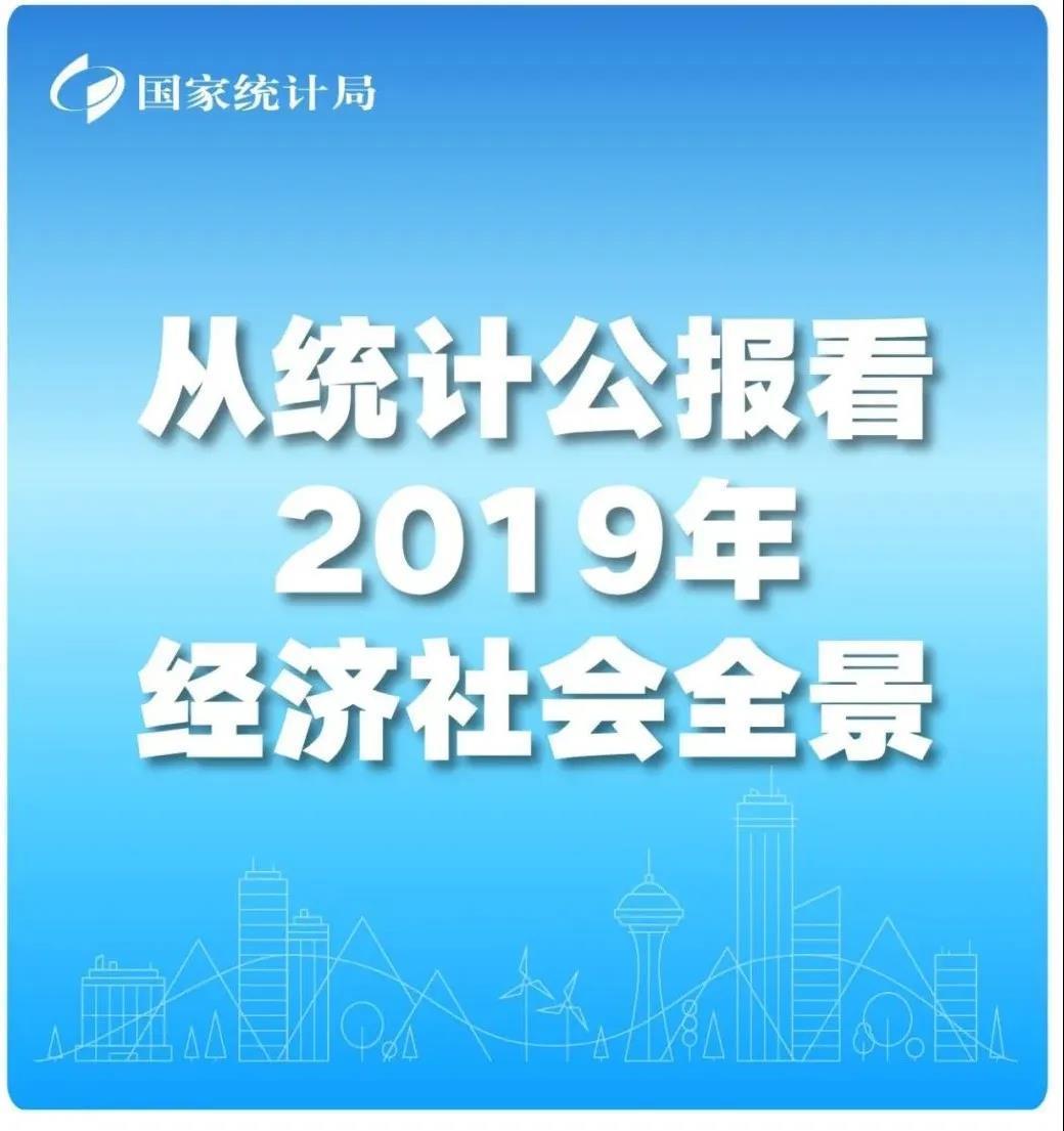 「统计微讯|易访」【图解】从统计公报看2019经济社会全景