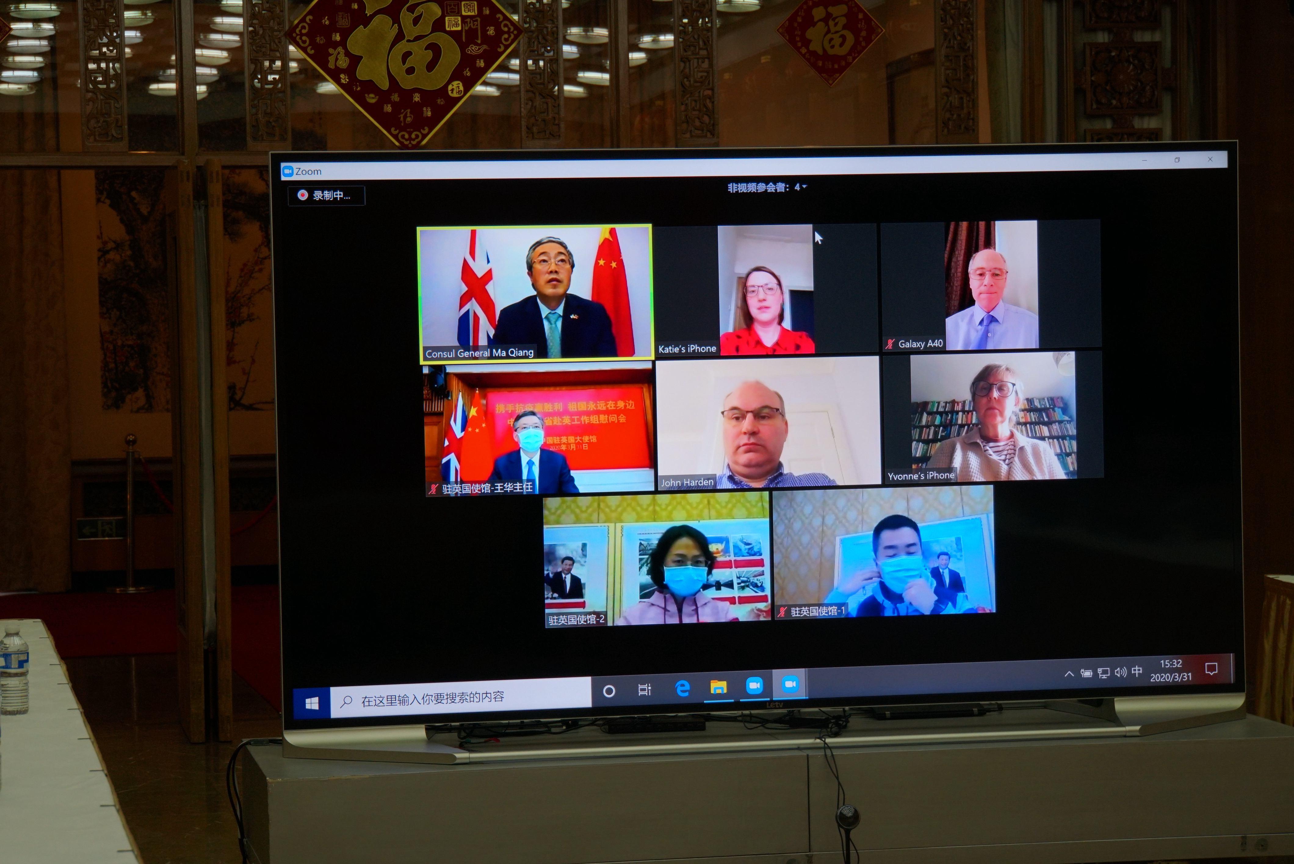 「环球时报-环球网|易访」中国赴英医疗工作组:英国卫生人员对中国社区联防和集中隔离措施很感兴趣