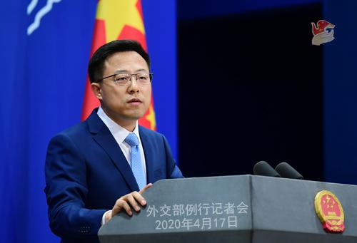 「中新经纬」英国首相计划允许华为参与5G建设遭反对 中方回应