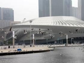 探营东港:国际会议中心周边景观升级笑迎来宾