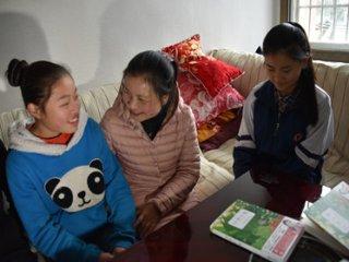 【网络媒体走转改】贵州大山里的海伦·凯勒刘芳:用爱温暖孩子们