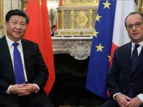 习近平会见法国总统奥朗德
