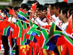 南非华侨华人热烈欢迎习近平主席访问南非(组图)