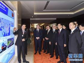 李克强为出席上海合作组织成员国政府首脑(总理)理事会第十四次会议的各国领导人举行欢迎宴会