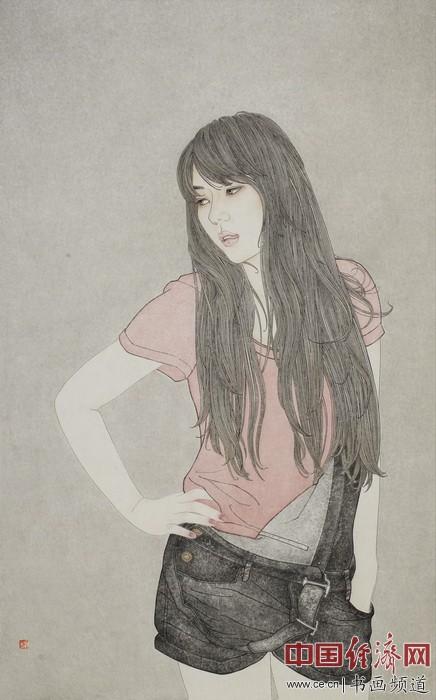 田野工笔画