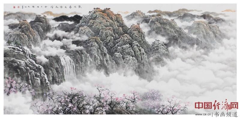 画家孙九江山水画欣赏(组图)图片