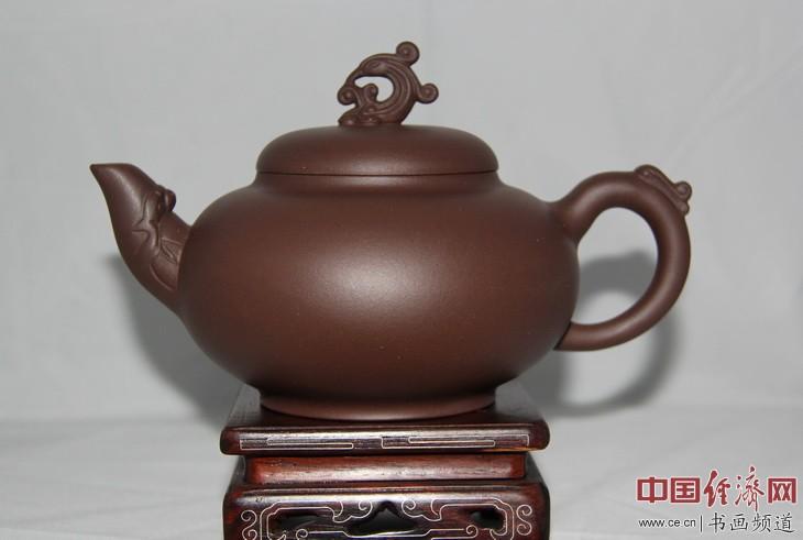 朱菊华紫砂壶作品