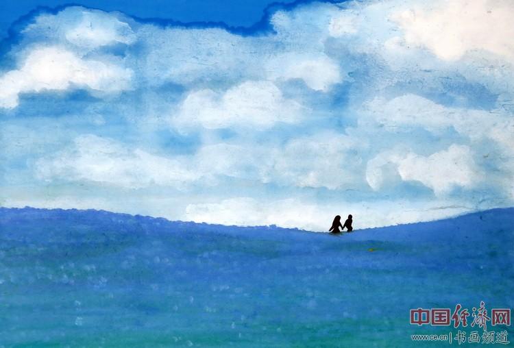 画家何�F熹(Anika He)中熹何璧AnikaHe画派绘画作品