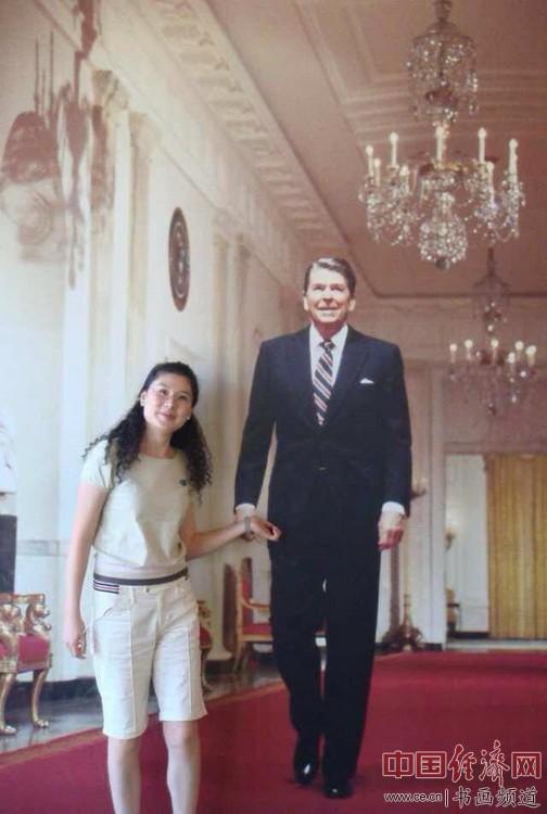 何�F熹 里根总统Anika He at Ronald Reagan Presidential