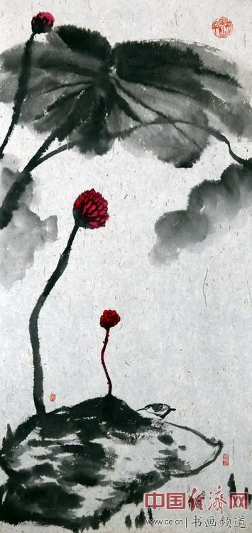 何�F熹(Anika He)水墨作品