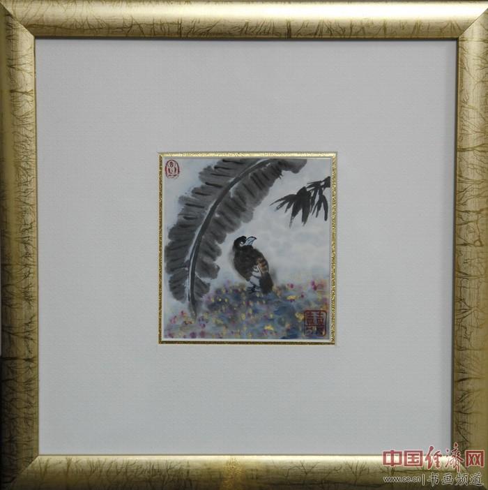 """何�F熹(Anika He)""""中熹何璧掌中宝mini系列""""作品《自由人》,被陈捷先生收藏。"""