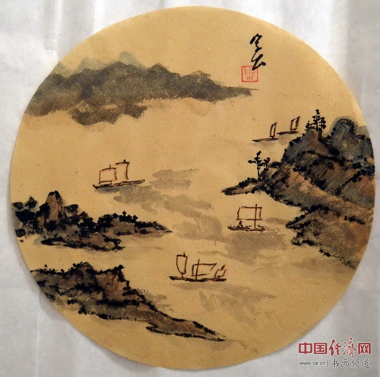 周笠枫国画作品
