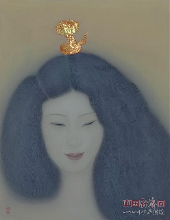 李惠英工笔人物画