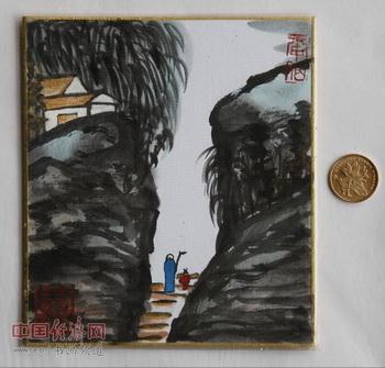 """何�F熹(Anika He)""""中熹何璧掌中宝mini系列""""作品《阴阳造化图》"""