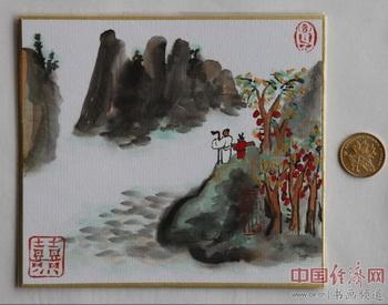 """何�F熹(Anika He)""""中熹何璧掌中宝mini系列""""作品"""