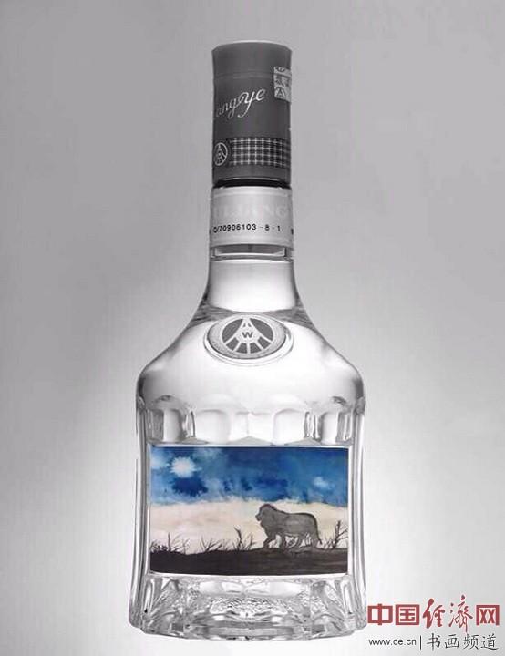 何�F熹(Anika He)绘画艺术与美酒Vodka