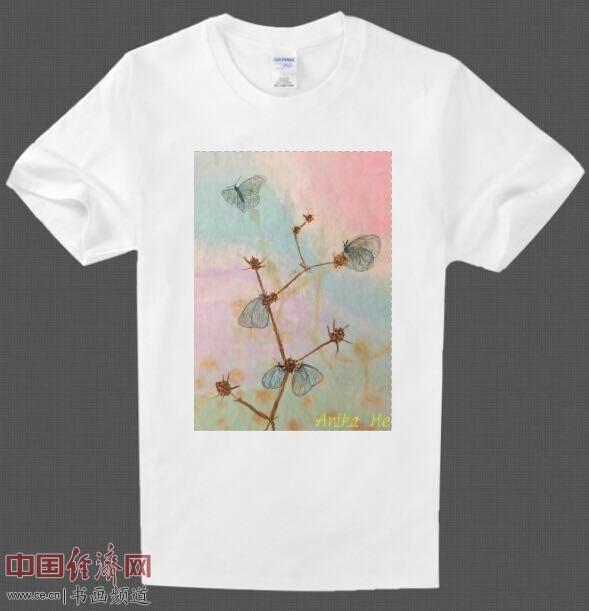 何�F熹艺术延伸品体恤 Anika He's Artistic T shirt