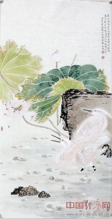 画家刘换天国画作品